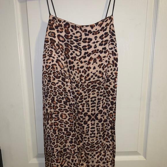 Top Shop Cheetah Print Dress